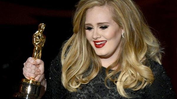 Oscar 2013 : Adele récompensée pour Skyfall