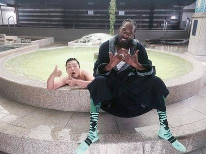 PSY et Snoop Dogg en mode HANGOVER !!