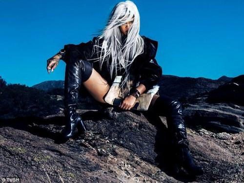 Rihanna en mode X-MEN
