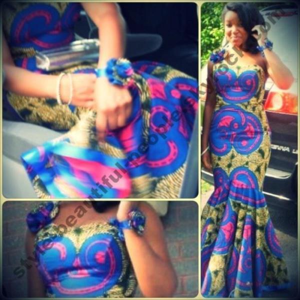 Africaine a vie ! Le tissu africain