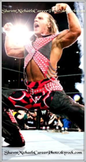 Entrée Sur Le Ring Du Heartbreak kid Shawn Michaels