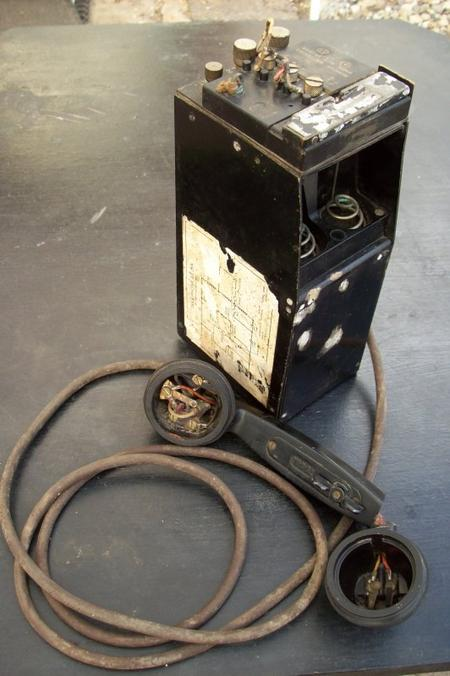 téléphone de campagne EE- 8A sans étui en cuir ORIGINAL WW2