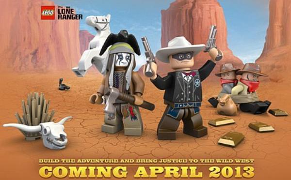 Lone Ranger nouveauté Lego 2013.