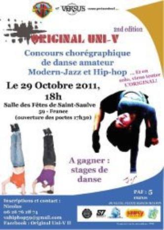 Original Uni-V 2nd Edition - Concours de danse Modern-Jazz & Hip-hop