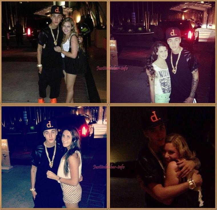 Justin à Miami.