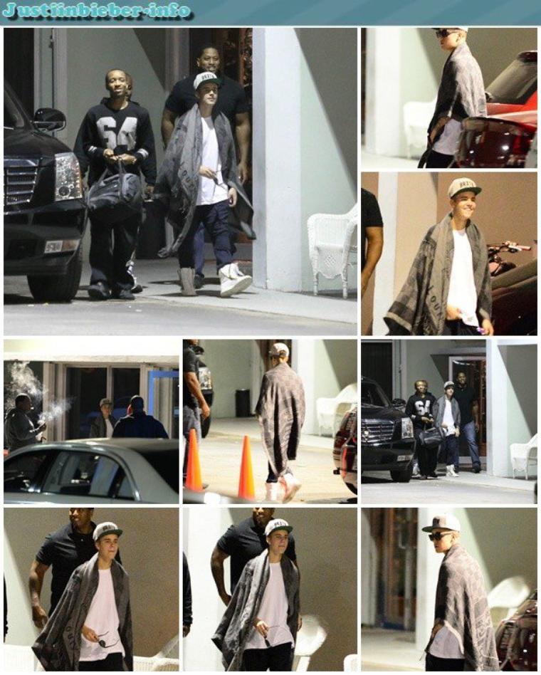 Justin en Floride.
