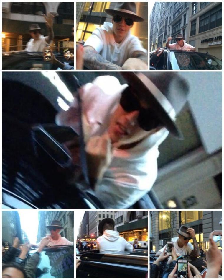Justin à New York