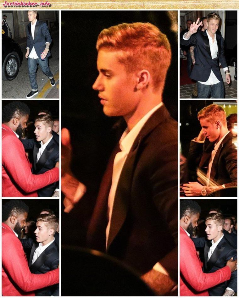 Justin au festival de Cannes (deuxième soirée). Partie 1.