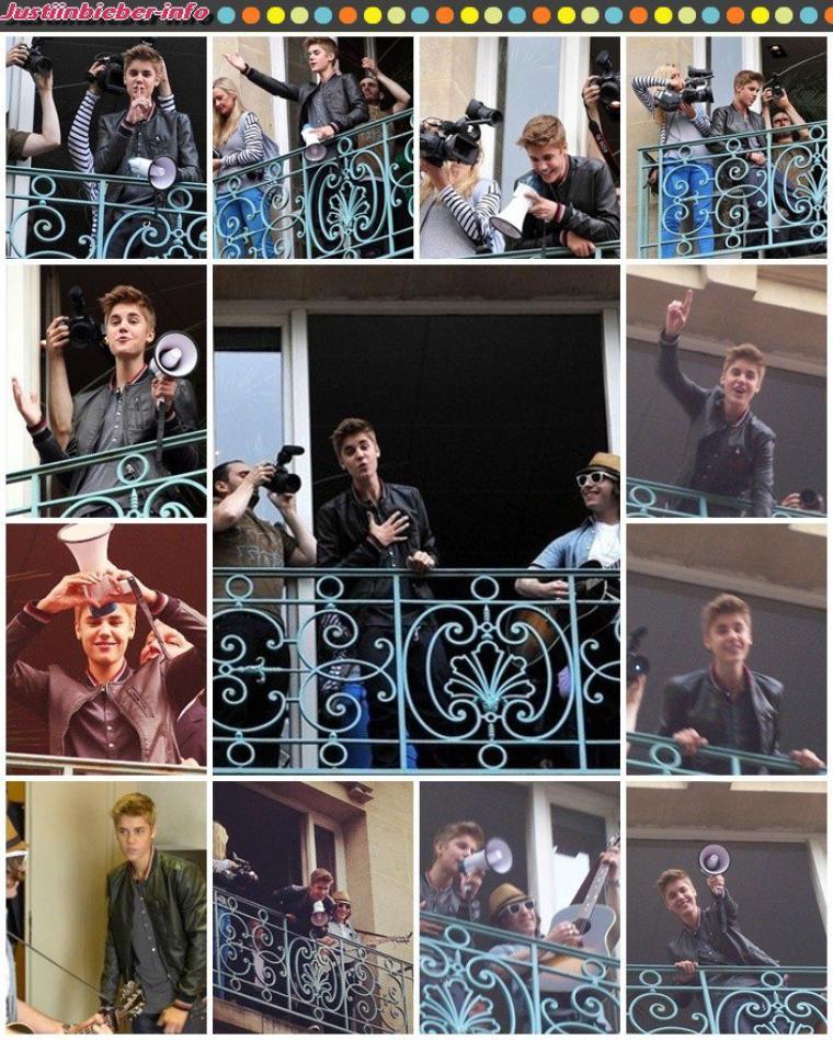 Justin Bieber à Paris le 1er Juin #Souvenirs