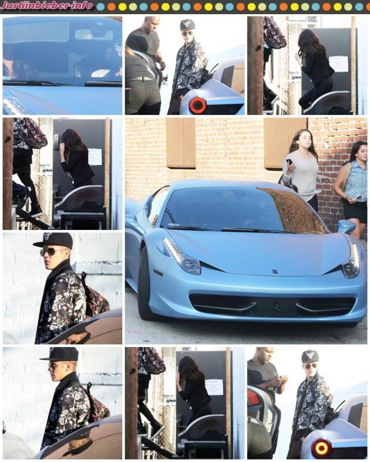 Justin et Selena à Los Angeles.