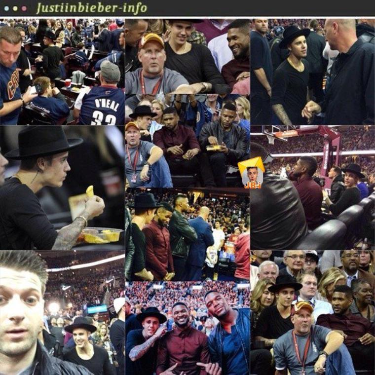 Justin à Cleveland.