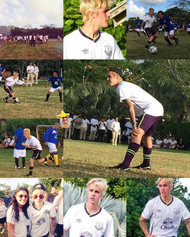 Justin aux  îles Turques et Caïques