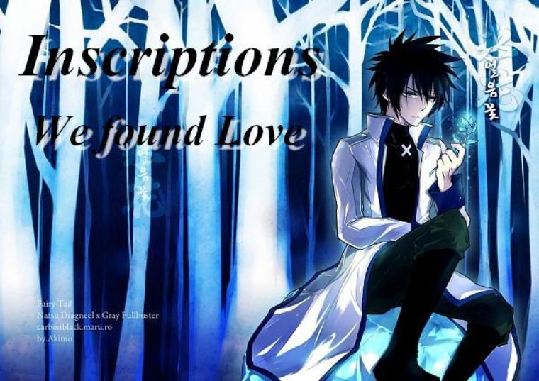 Inscription We found Love