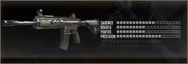 Arme Call Of Duty Black Ops 2, Fusil D'assaut  :  M27