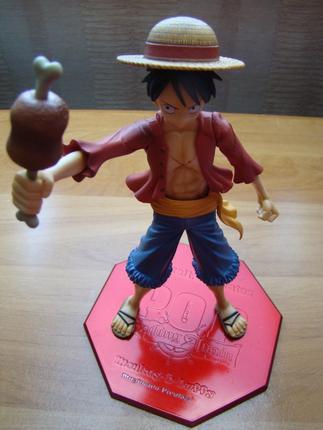 Ma figurine de Luffy de 24 cm :