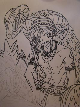Photos manga Luffy =)