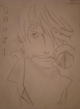 Manga de Sanji dans One Piece =)