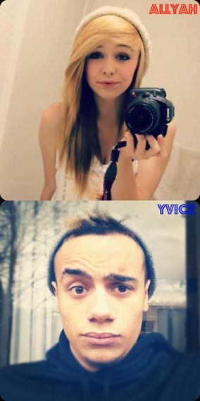 Thalia&Yvick VS Allyah&Yvick
