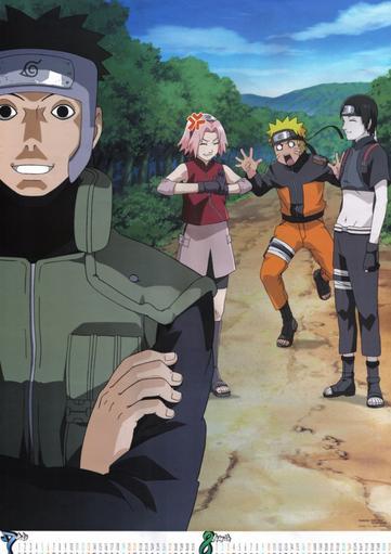 Chapitre 2: La nouvelle team Kakashi, deuxième journée.