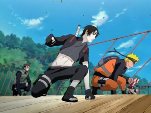 Chapitre 4: La nouvelle team Kakashi, quatrième journée.