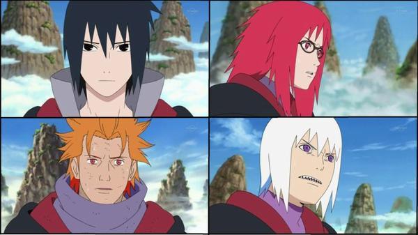 Taka: la nouvelle équipe de Sasuke