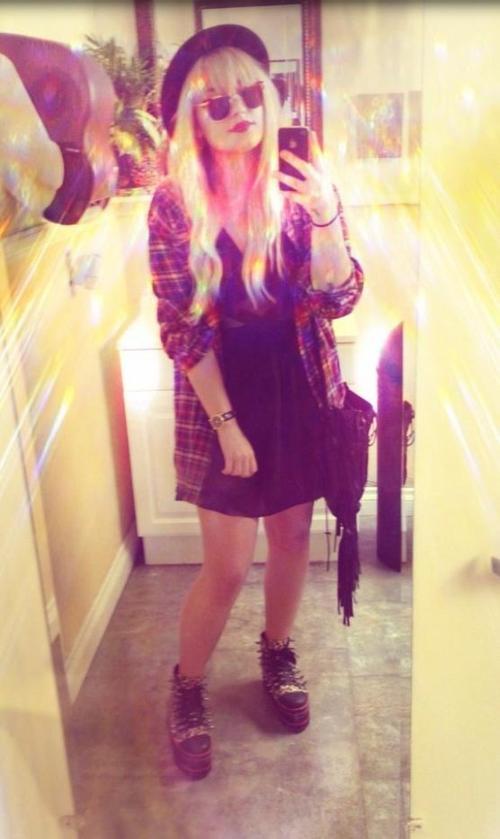 Le 26/09/2012 Demi a posté cette photo sur son twitter :