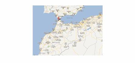 Sur la route au Maroc : Etape 1 : Tanger, région de Boulajoul (dimanche 19 février)
