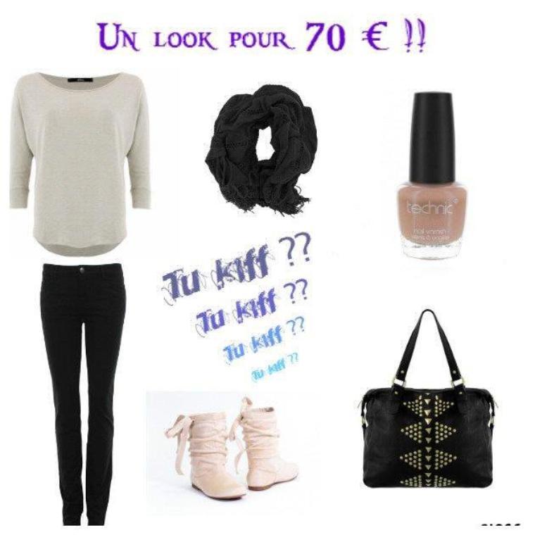look pour 70 ¤ !