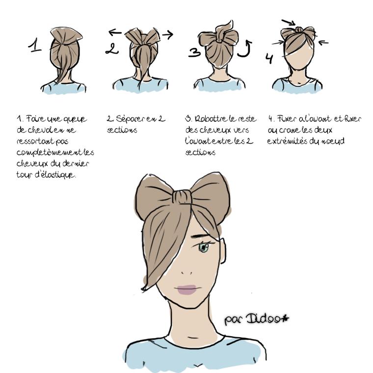 Tuto coiffure: noeud