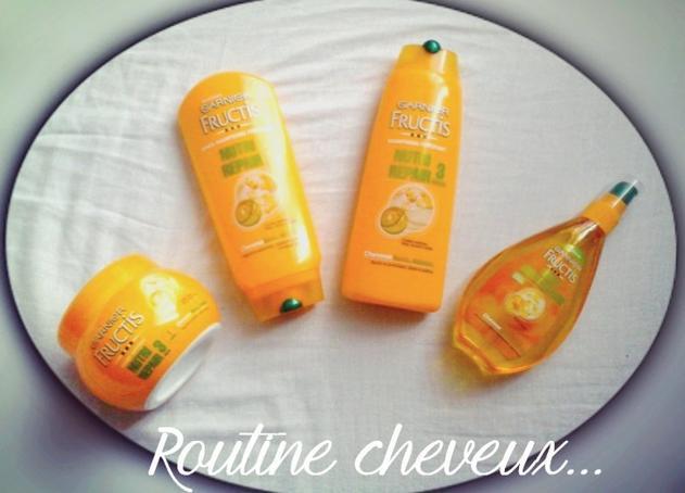 Ma routine cheveux..