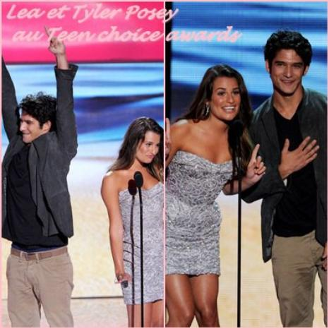 Lea au Teen Choice awards