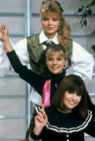 Karen Cheryl, Dorothée & Chantal Goya