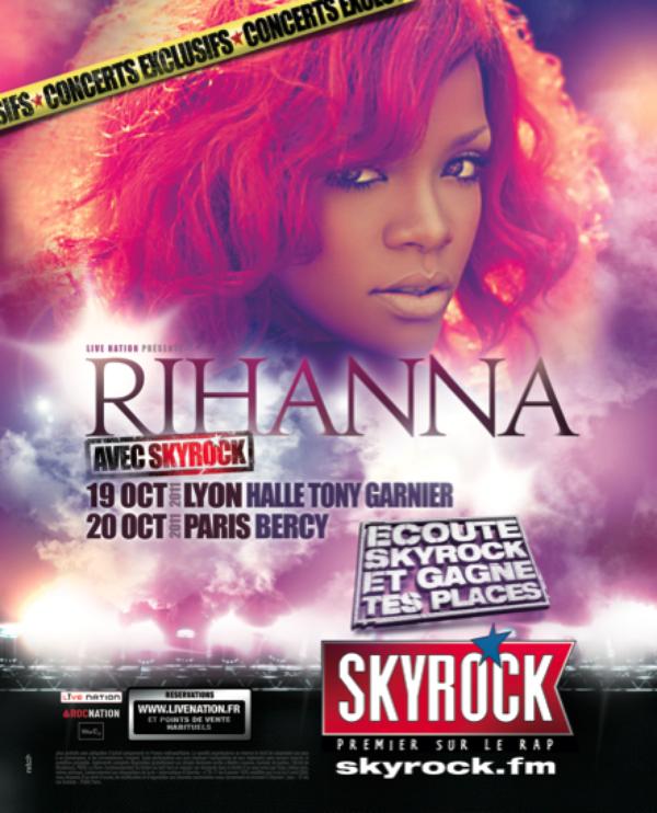 Concerts 100% exclu Skyrock