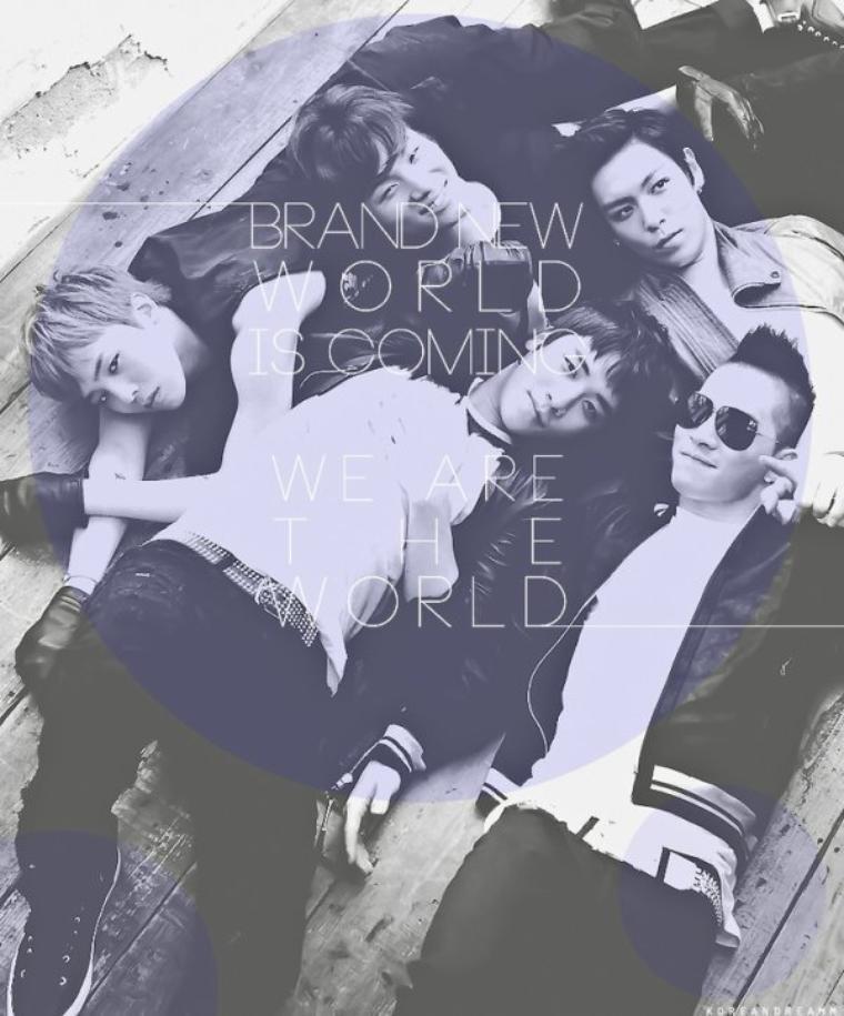 MON groupe préféré :BIGBANG