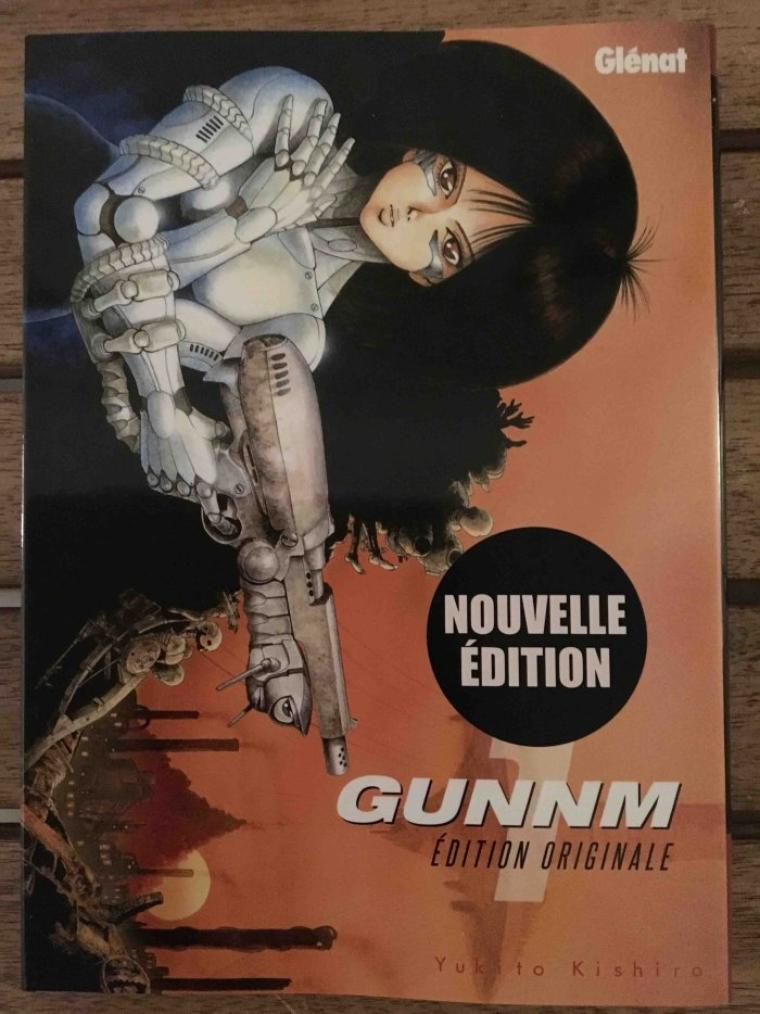 Gunnm édition originale tome 1