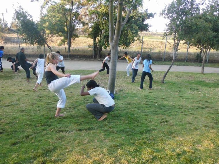 Cour de Capoeira au Cerro 15