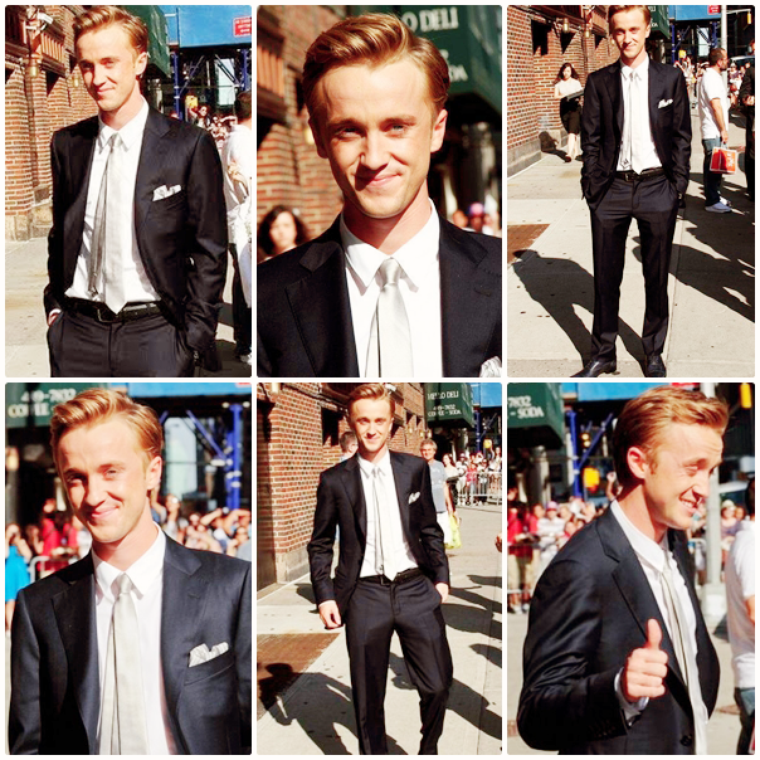 Tom Felton invité du Late Show