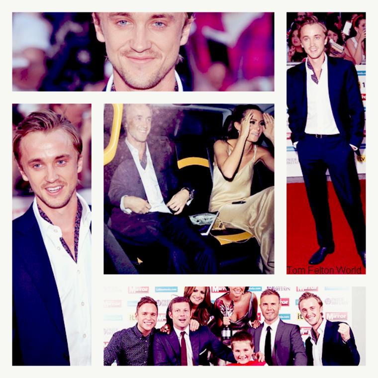 Tom Felton au Pride of Britain Award 2011
