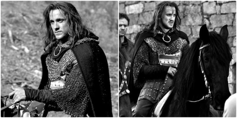 """Deux nouvelles photos de Tom Felton dans """"Labyrinthe"""""""