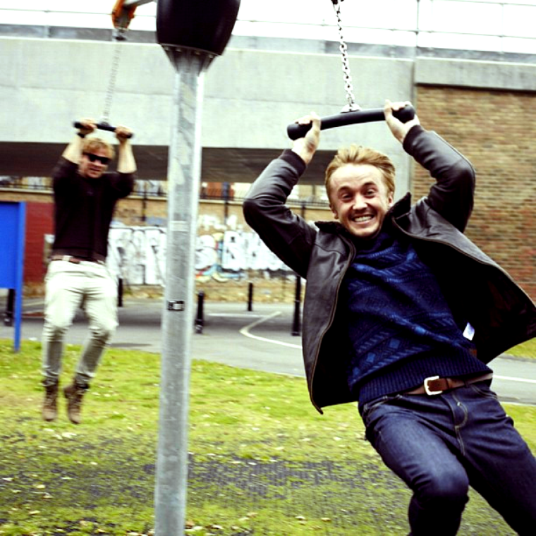 Nouvelle photo de Tom Felton pour ASOS