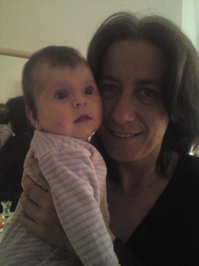 Ma Fille Avec Sa Mamie ( Ma Maman )