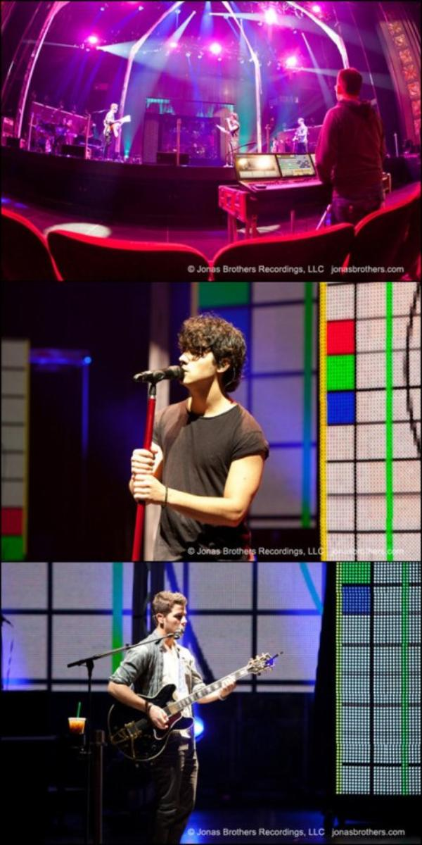 27.11.2012 Photos concerts des Jonas Brothers au Pantages + Soundcheck