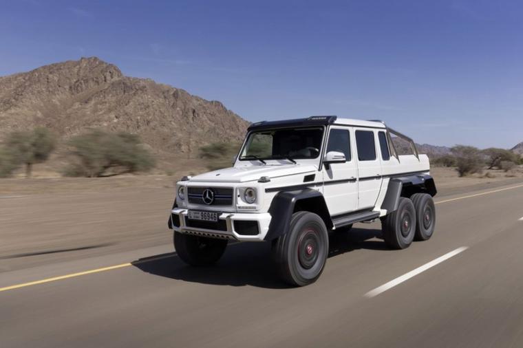 Le Mercedes classe G 6X6