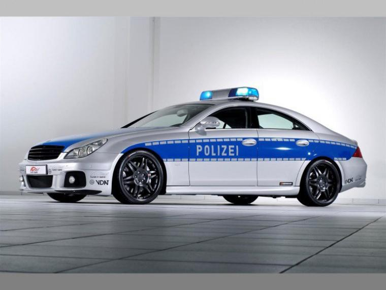 Brabus Rocket CLS V12 S Polizei !