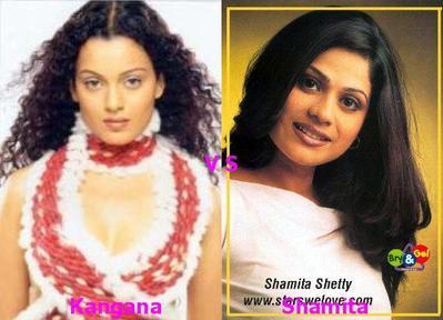 Kangana Renault vs Shamita Shetty