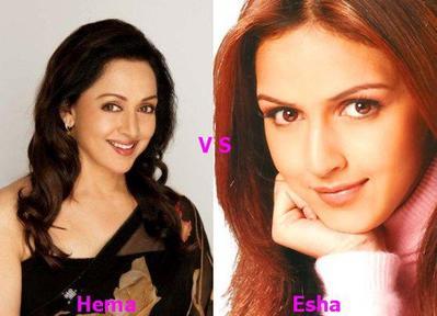 Hema Malini vs Esha Deol