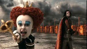 7. Helena Bonham Carter, dans 'Alice au Pays des merveilles' (2010)
