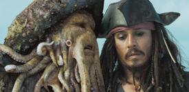 9. Bill Nighy, dans la saga 'Pirates des Caraïbes' (2006-2007)