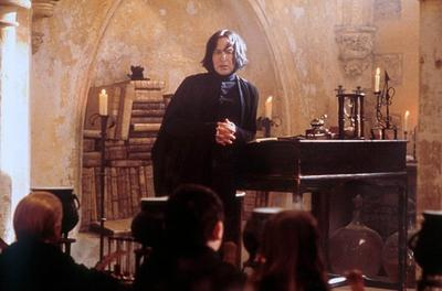 Severus Rogue / Alan Rickman