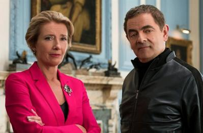 100. Emma Thompson, dans 'Johnny English contre-attaque' (2018)